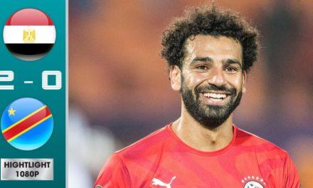 CAN 2019 – Revivez les temps forts du match Egypte – République Démocratique du Congo