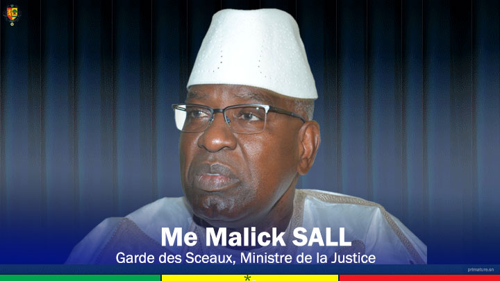 Le ministre Malick Sall sur l'arrestation de Adama Gaye: «La Justice n'acceptera plus…»