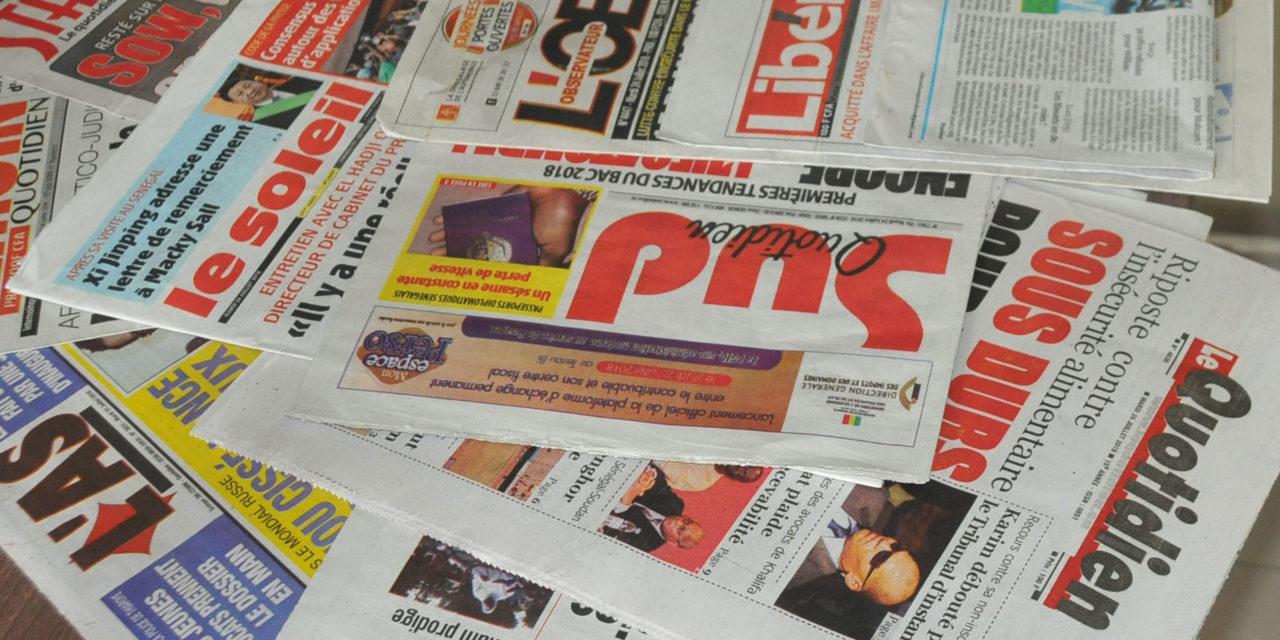 CODE DE LA PRESSE – Macky promet de signer les décrets d'application