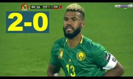 CAN 2019 – Revivez les temps forts du match Cameroun – Guinée Bissau