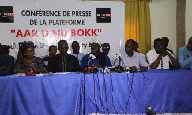DÉMISSION D'ALIOU SALL : Aar Li Nu Bokk prend acte et maintient la pression