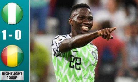 CAN 2019 – Revivez les temps forts du match Nigéria – Guinée