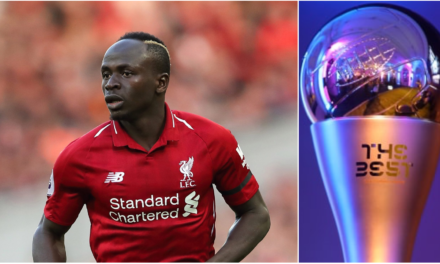 FIFA THE BEST – Sadio Mané parmi les 10 nominés