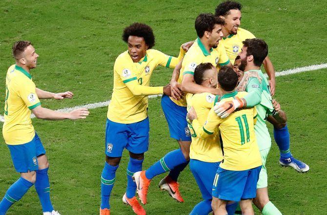 COPA AMERICA : Le Brésil élimine l'Argentine et file en finale