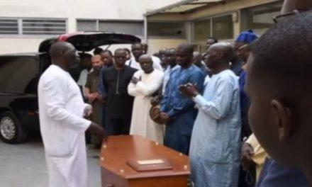 La dépouille d'Ameth Amar à Dakar, l'enterrement prévu ce vendredi