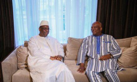Obsèques de Tanor : Le président du Burkina à Dakar pour présenter ses condoléances