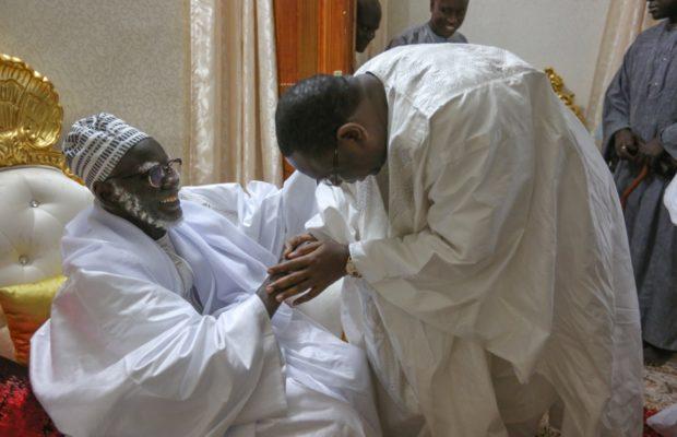 """Les assurances de Macky au khalife des mourides : """"Mon ambition pour le Sénégal, c'est…»"""