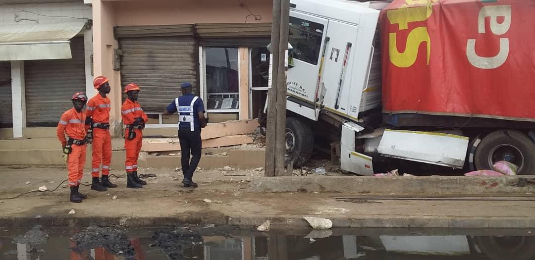 Grave accident à Thiaroye : 1 mort, 4 blessés