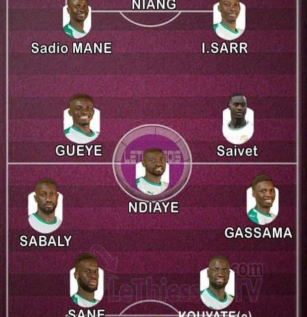 FINALE SENEGAL – ALGERIE : Sané remplace Koulibaly