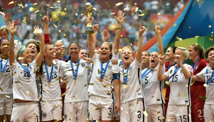 MONDIAL FEMININ : Et de 4 pour la Team USA