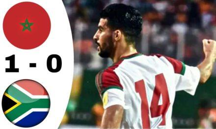 CAN 2019 – Revivez les temps forts du match Afrique du Sud – Maroc