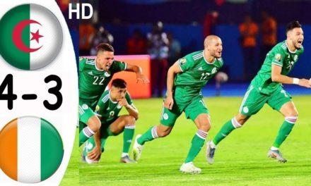 CAN 2019 – Revivez les temps forts du 1/4 de final Algérie – Côte d'Ivoire