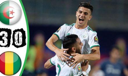 CAN 2019 – Revivez les temps forts du match Algérie – Guinée