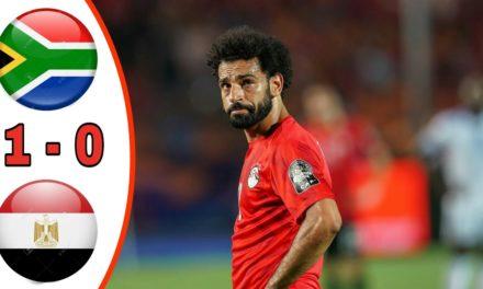 CAN 2019 – Revivez les temps forts du match Egypte – Afrique du Sud