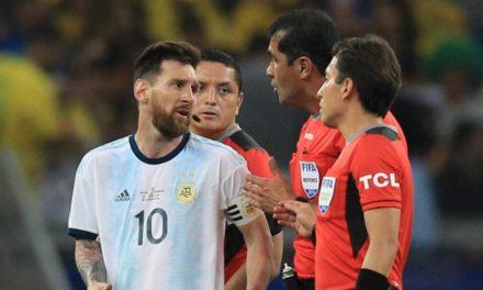 COPA AMERICA : Le coup de gueule de Messi