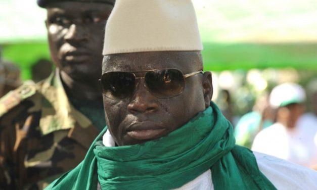 GAMBIE – Manifestation pour le retour de Jammeh