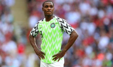 NIGERIA : Ighalo quitte les Super Eagles