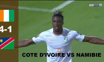 CAN 2019 – Revivez les temps forts du match Namibie – Côte d'Ivoire