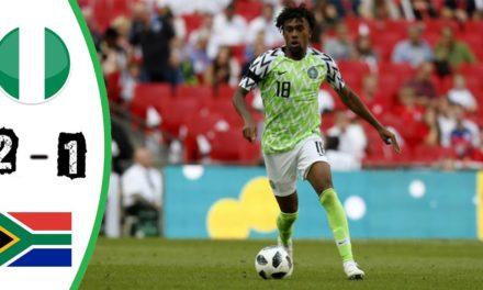 CAN 2019 – Revivez les temps forts du 1/4 de final Nigéria – Afrique du Sud
