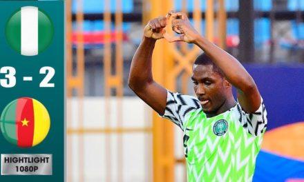 CAN 2019 – Revivez les temps forts du match Nigéria – Cameroun