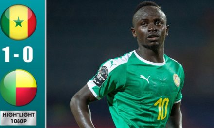 CAN 2019 – Revivez les temps forts du 1/4 de final Sénégal – Bénin