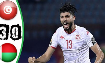 CAN 2019 – Revivez les temps forts du 1/4 de final Tunisie – Madagascar