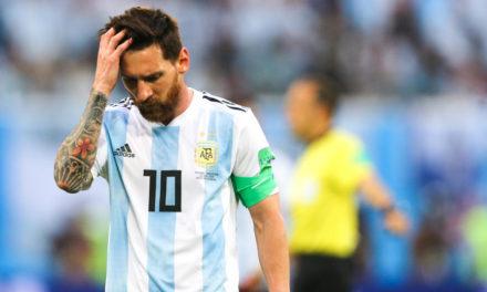 ARGENTINE : Messi suspendu pour 3 mois