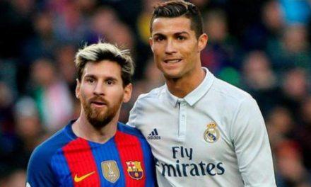 C. RONALDO – «Messi fait de moi un meilleur joueur»