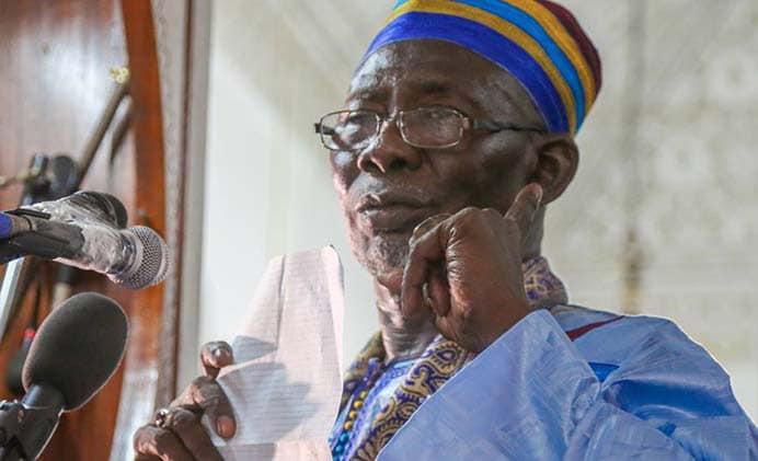 FERMETURE DES MOSQUEES – L'Imam ratib de la Grande mosquée de Dakar s'oppose