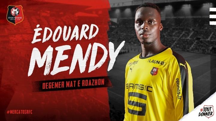 OFFICIEL : Edouard Mendy signe à Rennes