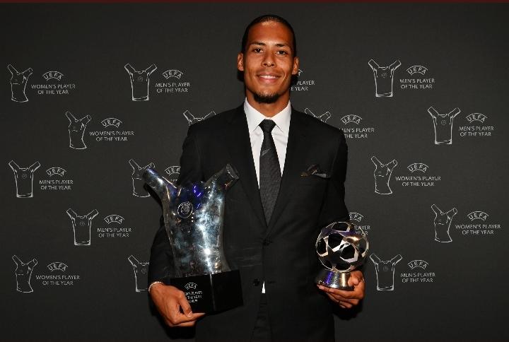 UEFA : Van Djik sacré joueur de l'année