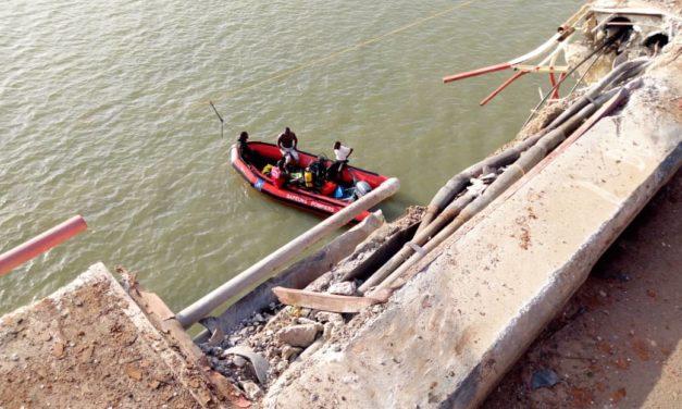 Chute d'un camion sous le pont de Ziguinchor : 1 mort, 1 rescapé et 2 disparus