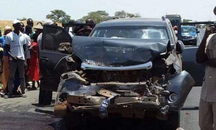 Le cortège du ministre Oumar Youm fait un accident : 4 blessés