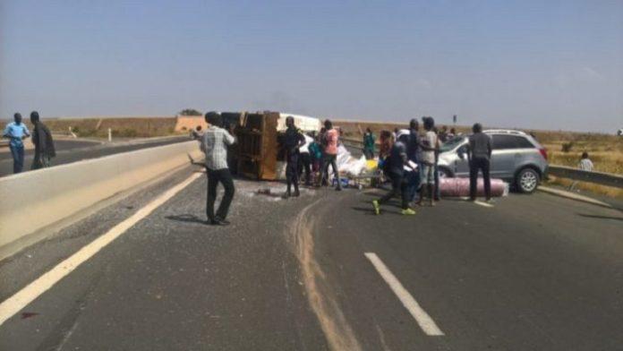 ACCIDENT : Un mort et 3 blessés sur l'autoroute Ila Touba