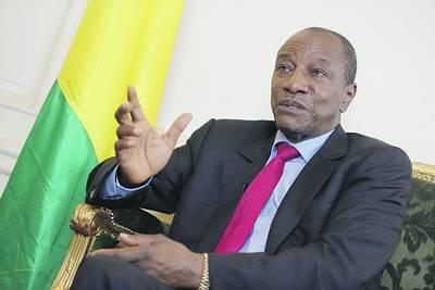 """Guinée : Le président Alpha Condé rend hommage à son """"ami Amath"""""""