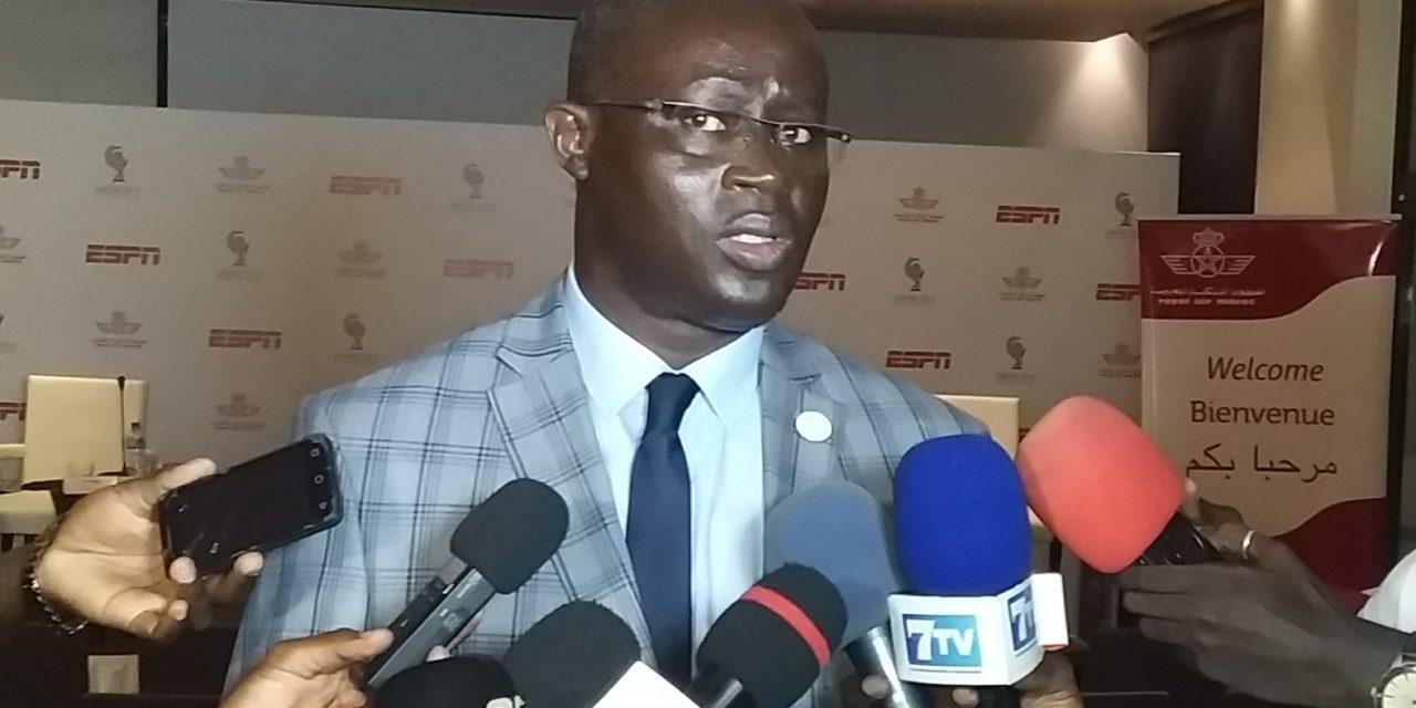 """AUGUSTIN SENGHOR : """" Le match amical Sénégal-Brésil pas encore confirmé"""""""