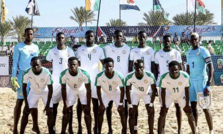 MONDIAL BEACH SOCCER : Le Sénégal avec la Russie dans le groupe C