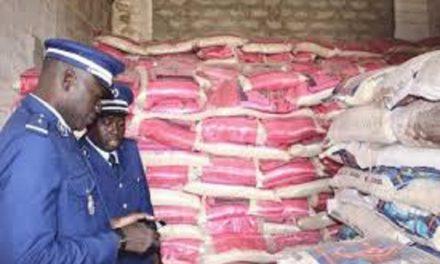 Riz impropre à la consommation :  19 tonnes saisies à Ndangalma
