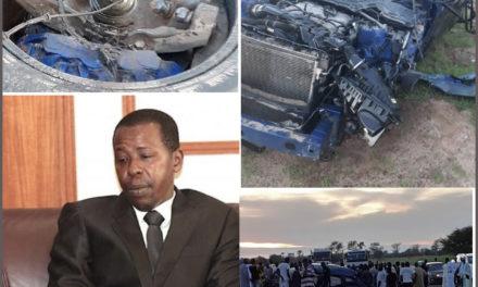 VICTIME D'UN VIOLENT ACCIDENT – Cheikh Amar évacué sur Dakar