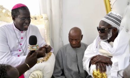 "Mgr Benjamin Ndiaye à Serigne Mountakha : ""Si nous prenons exemple sur vous…"""