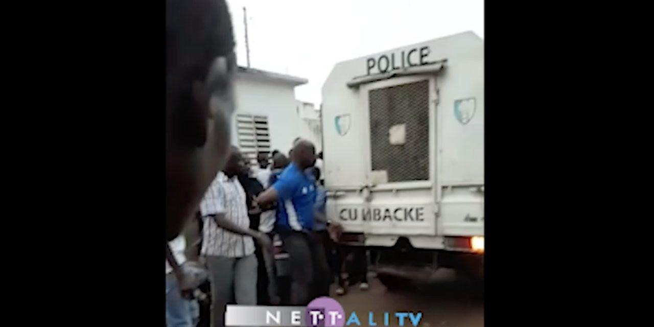 (Vidéo) Mbacké : Ibou Diop arrêté pour avoir revendiqué le saccage du stade