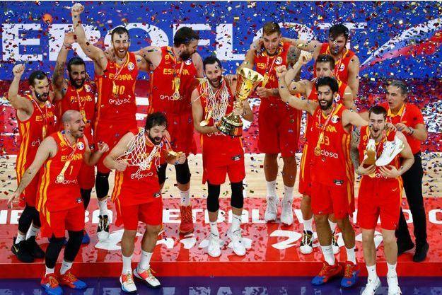 MONDIAL BASKET : L'Espagne décroche sa 2ème étoile
