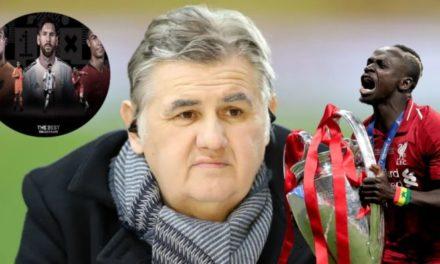 THE BEST – ABSENCE DE SADIO MANE : Pierre Menés tacle la FIFA