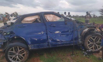 Le film de l'accident du véhicule Cheikh Amar et de son évacuation à Dakar