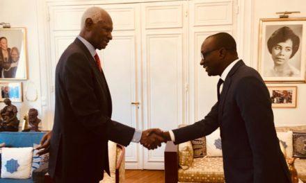 France : Le nouvel ambassadeur du Sénégal reçu par l'ancien président Abdou Diouf