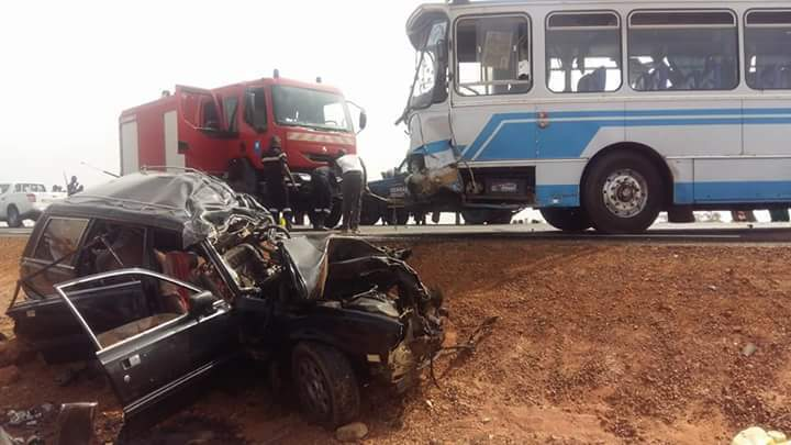 ACCIDENT A KAOLACK – 25 passagers, dont des Gambiens, des Sénégalais et une Nigérienne, blessés