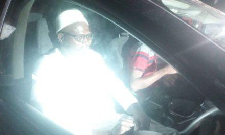 REBEUSS – Khalifa Sall vient de quitter la prison