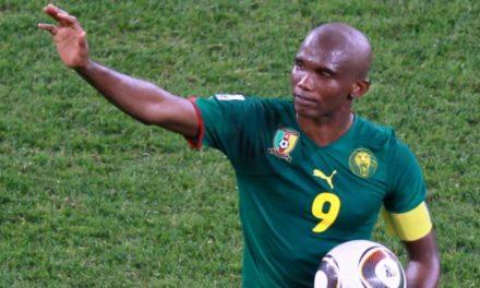 FOOTBALL : Eto'o Fils prend sa retraite