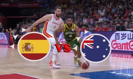 Mondial Basket : Revivez les temps forts de la 1/2 finale Espagne – Australie