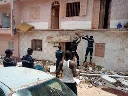 PARCELLES ASSAINIES : L'effondrement d'un bâtiment fait un mort et trois blessés